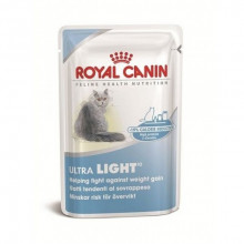 Royal Canin (Роял Канин) Ультра лайт в желе консервы для кошек 85гр*12 (пауч)