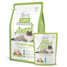 Brit (Брит) Care Cat AnGel Delighted Senior для пожилых кошек 400гр