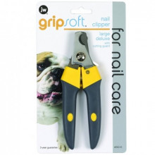 J.W. Когтерез с ограничителем, для собак, большой Grip Soft Large Deluxe Nail Clipper