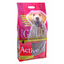 NERO GOLD Adult Active сухой для активных собак Курица и рис 12кг