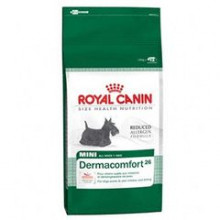 Royal Canin (Роял Канин) сухой корм для собак мини Дермакомфорт-26 для собак склонных к кожным раздражениям и зуду 2кг