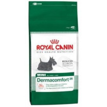 Royal Canin (Роял Канин) сухой корм для собак мини Дермакомфорт-26 для собак склонных к кожным раздражениям и зуду 4кг
