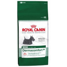 Royal Canin (Роял Канин) сухой корм для собак мини Дермакомфорт-26 для собак склонных к кожным раздражениям и зуду 800гр