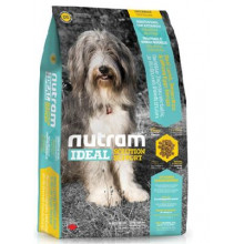 Nutram Ideal Sensitive Dog - Skin, Coat & Stomach корм сухой для собак с проблемами ЖКТ кожи и шерсти 13,6кг